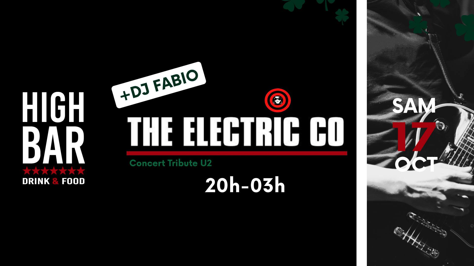 17.10: THE ELECTRICO Tribute U2 & FABIO