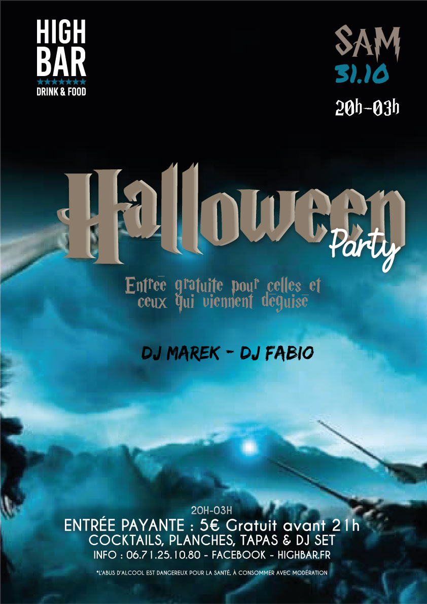 "31.10 : "" HALLOWEEN PARTY """