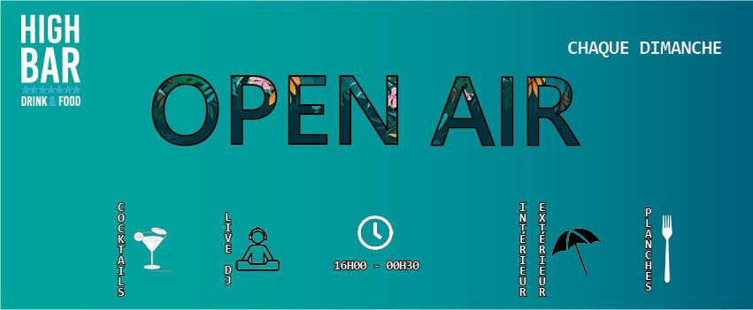 18.10: ** OPEN AIR **