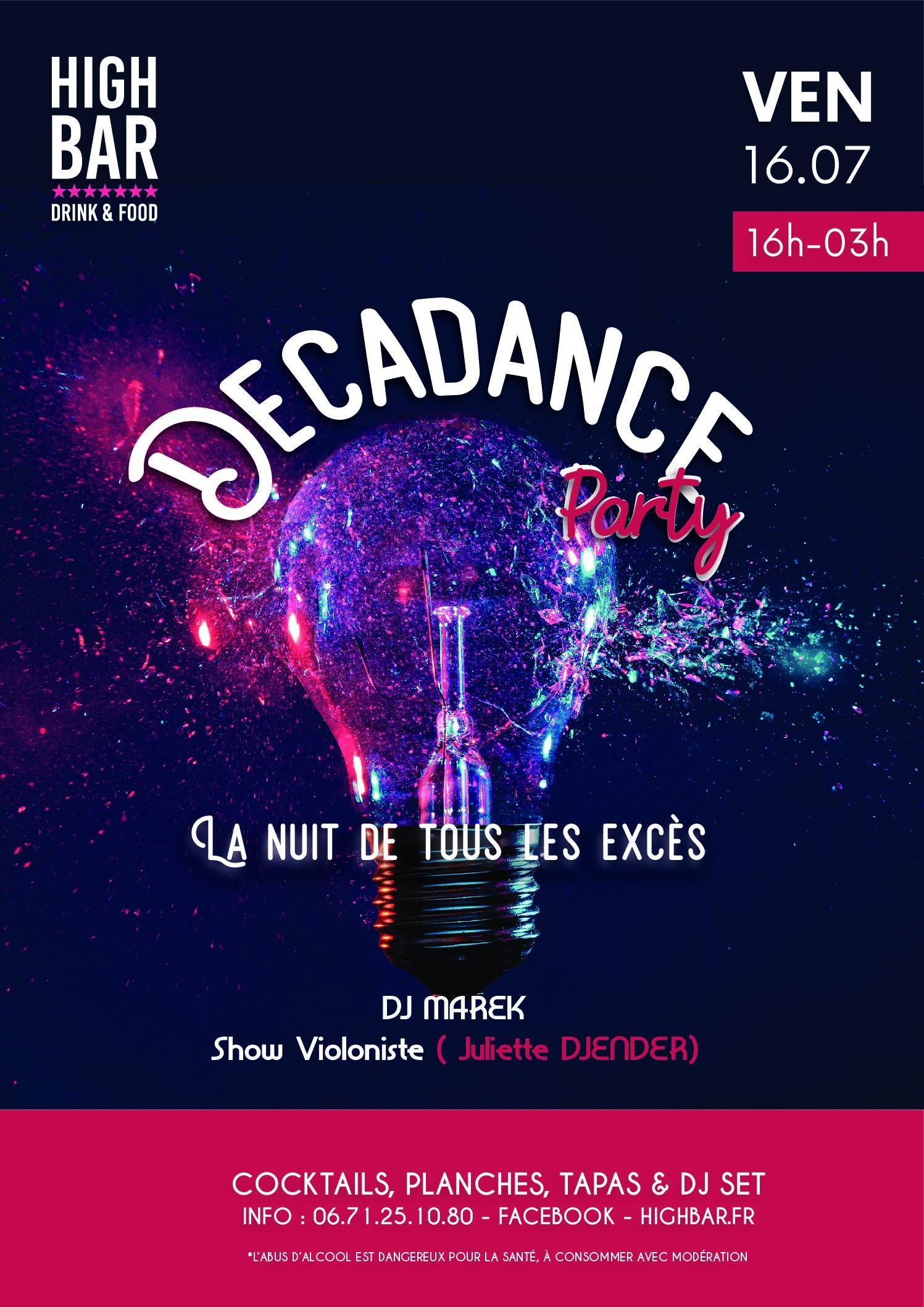 /// DECADANCE – PARTY – HIGH BAR ///