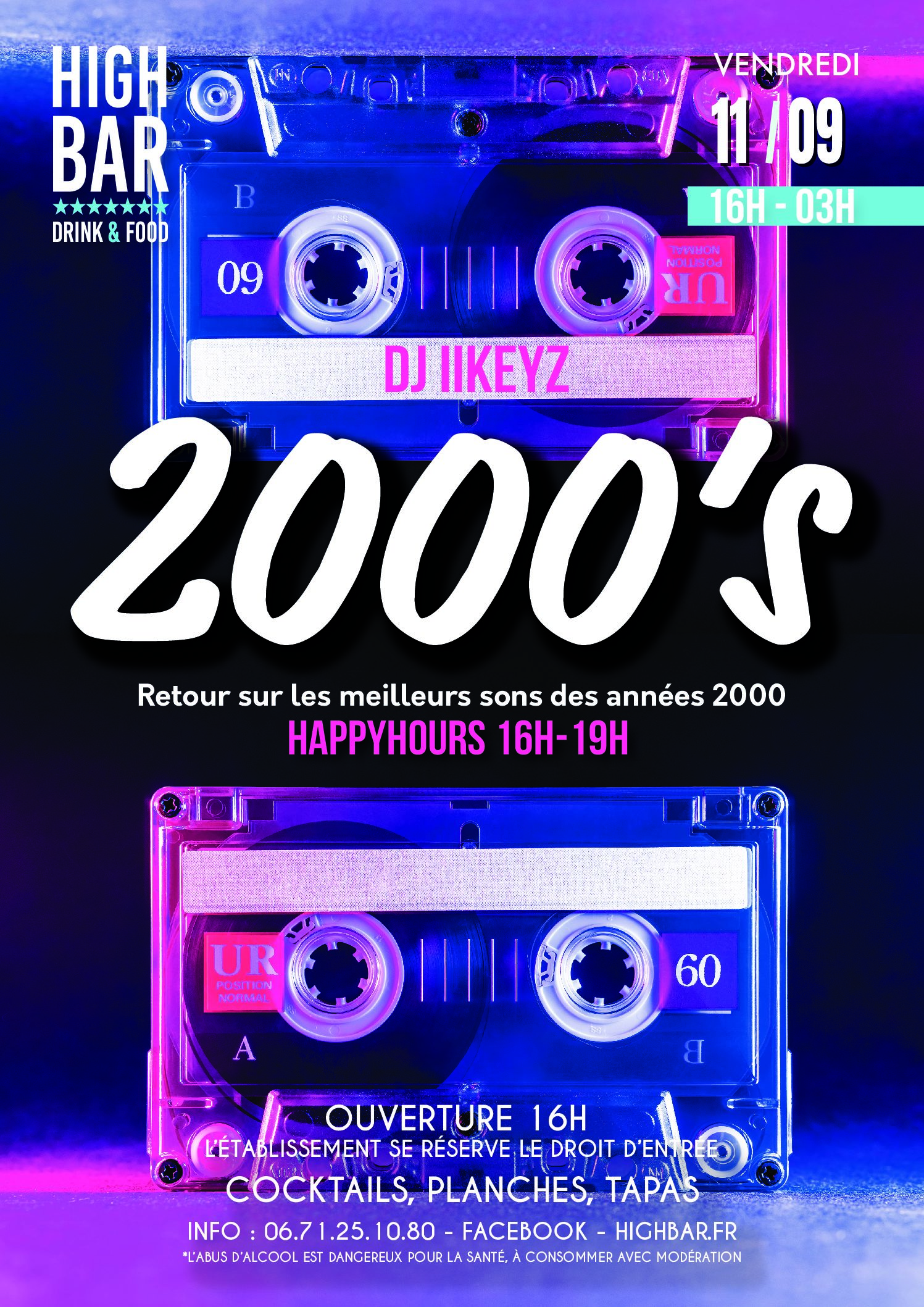 /// 2000's Party – HIGH BAR ///