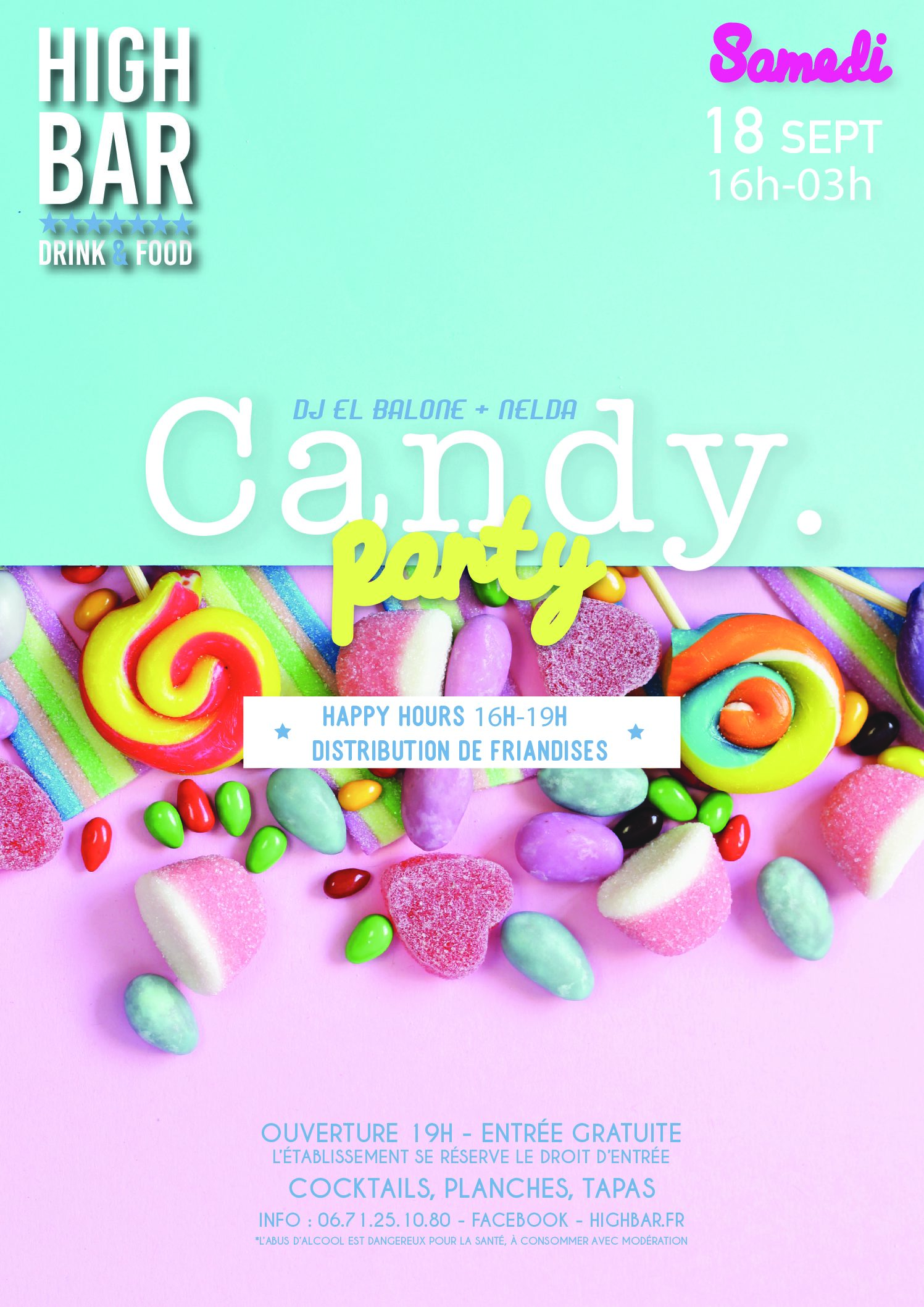/// CANDY PARTY – HIGH BAR ///