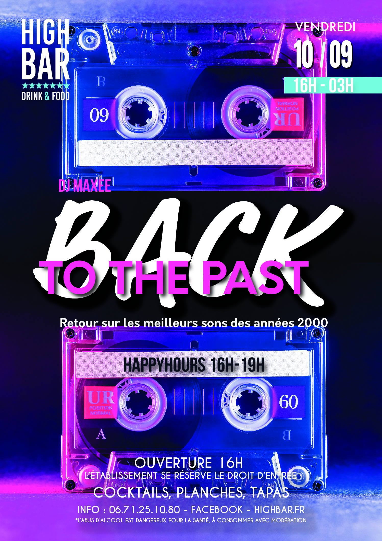 /// BACK TO THE PAST – HIGH BAR ///
