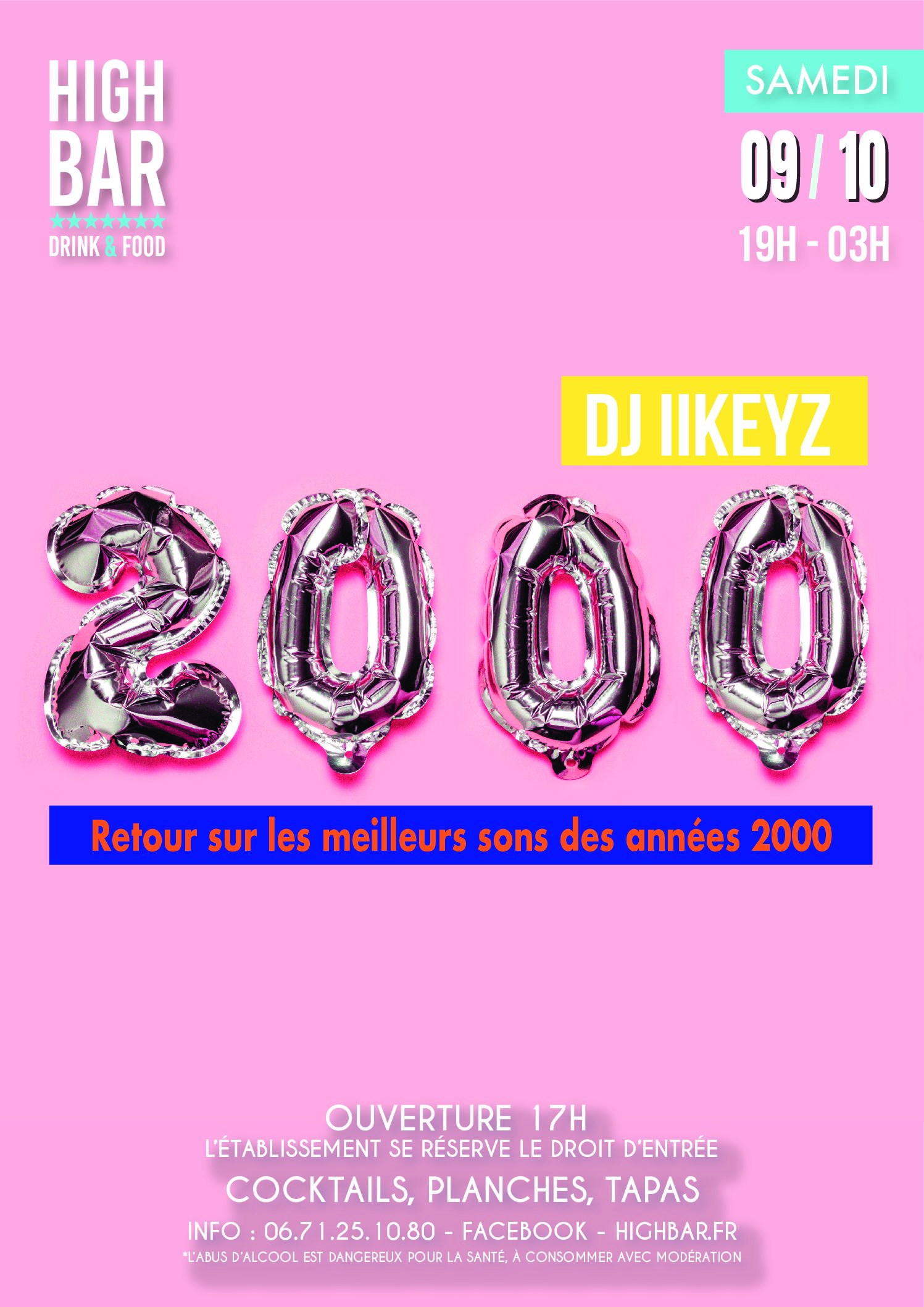 // 2000'S PARTY – HIGH BAR ///