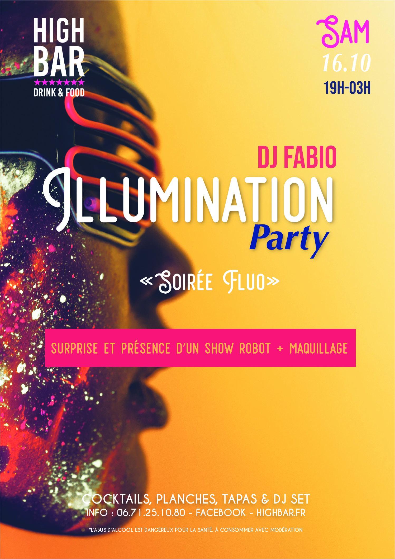 ILLUMINATION – FLUO – HIGH BAR